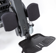 90° Power elevating and articulating center mount