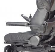 Corbeau cantilever armrest