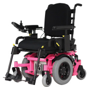 Custom wheelchair color (Bubble Gum)