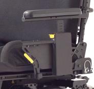 Dual post armrest
