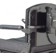Standard cantilever armrest