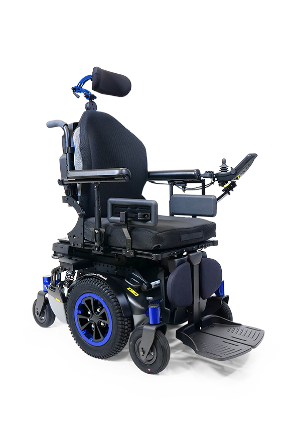 ALLTRACK M SERIES MID-WHEEL DRIVE POWER WHEELCHAIR