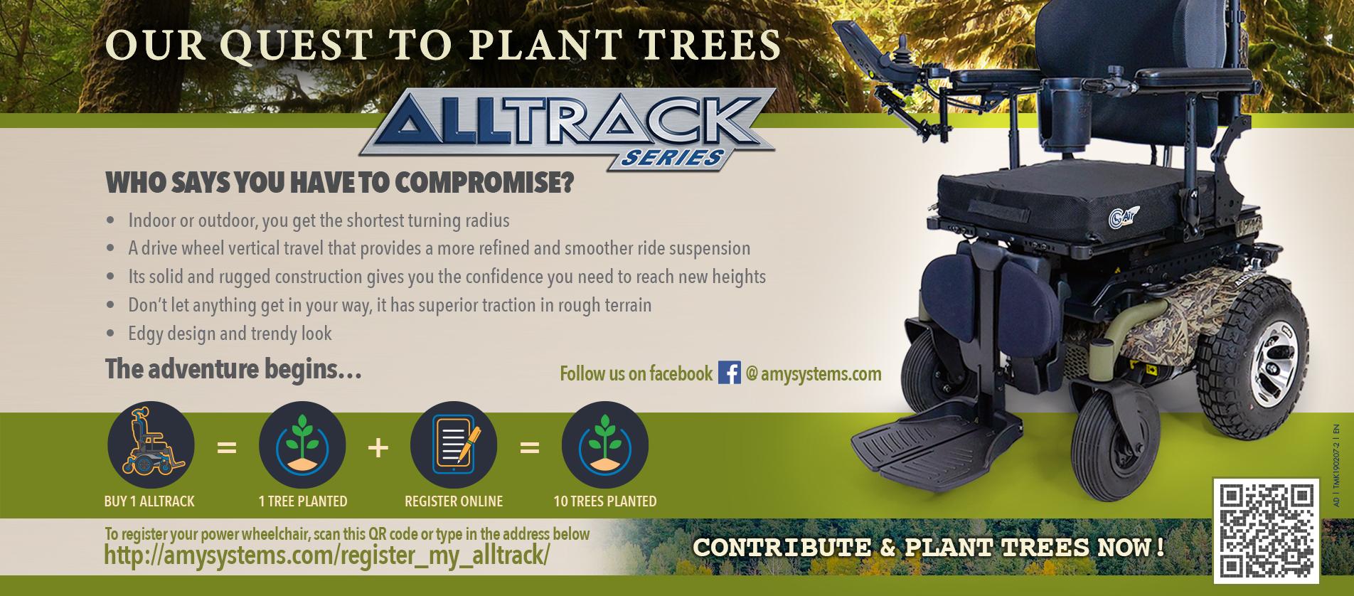 Power wheelchairs   Alltrack series   AMYLIOR   AMYSYSTEMS